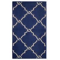 Jean Pierre Yohan Loop 1-Foot 8-Inch x 2-Foot 10-Inch Accent Rug in Navy