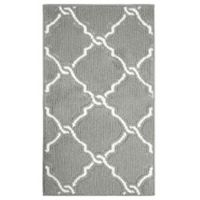 Jean Pierre Yohan Loop 1-Foot 8-Inch x 2-Foot 10-Inch Accent Rug in Grey/Soft White