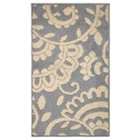 Adele Loop Rug 1-Foot 6-inch x 2-Foot 8-inch Accent Rug in Grey