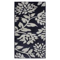 Jean Pierre Melly 2-Foot 4-Inch x 4-Foot Flat Weave Accent Rug in Grey