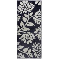 Jean Pierre Melly 2-Foot x 5-Foot Flat Weave Accent Rug in Grey