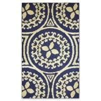 Jean Pierre Mimosa 2-Foot x 3-Foot Accent Rug in Navy/Berber