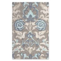 Laura Ashley® Penelope Floral Jacquard 2-Foot x 3-Foot Accent Rug in Blue