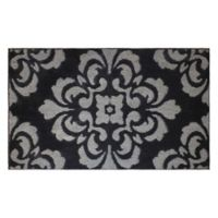 CL Portico 2-Foot 4-Inch x 4-Foot Accent Rug in Grey