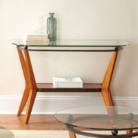 Steve Silver Co. Saxony Soda Table in Brown