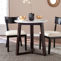 Southern Enterprises Kayla Dining Table in Espresso