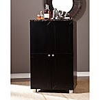 Southern Enterprises Cape Town Bar Cabinet in Black