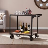 Southern Enterprises Dayne Bar Cart in Black