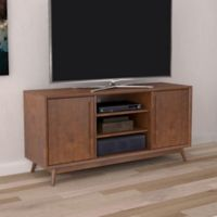Bell'O Leawood TV Stand in Cherry