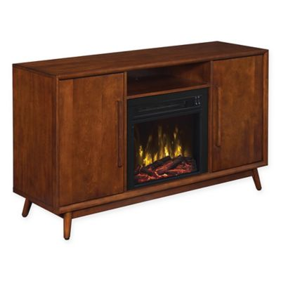 leawood fireplace tv stand in