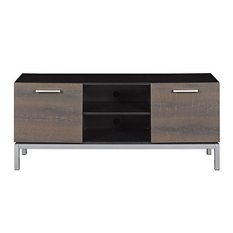 Bell 39 O Cutler Bay Tv Stand In Black Bed Bath Beyond