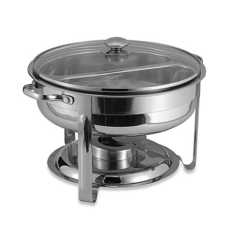 6-quart divided chafing dish - bed bath & beyond