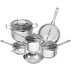 Emeril™ 12-Piece Stainless Steel and Copper Core Cookware Set