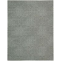 Nourison Ambrose Diamond 9-Foot 9-Inch x 13-Foot 9-Inch Area Rug in Slate