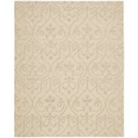 Nourison Ambrose 3-Foot 9-Inch x 5-Foot 9-Inch Area Rug in Sand