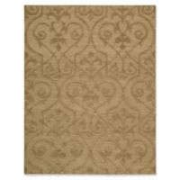 Nourison Ambrose 5-Foot 6-Inch x 7-Foot 5-Inch Area Rug in Khaki