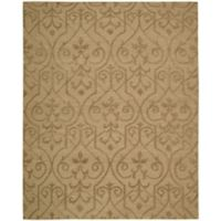 Nourison Ambrose 8-Foot 6-Inch x 11-Foot 6-Inch Area Rug in Khaki