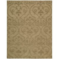 Nourison Ambrose 9-Foot 9-Inch x 13-Foot 9-Inch Area Rug in Khaki