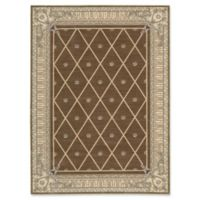 "Nourison Ashton House 2' x 2'9"" Machine Woven Kitchen Mat in Mink"
