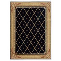 Nourison Ashton House 2-Foot x 5-Foot 9-Inch Runner in Black