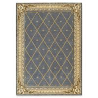 Nourison Ashton House 3-Foot 6-Inch x 5-Foot 6-Inch Area Rug in Blue