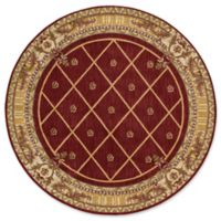 Nourison Ashton House 5-Foot 6-Inch Square Area Rug in Sienna
