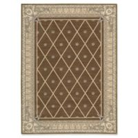 Nourison Ashton House 5-Foot 6-Inch x 7-Foot 5-Inch Area Rug in Mink