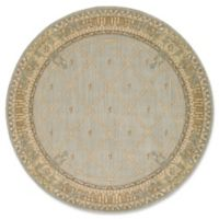 Nourison Ashton House 7-Foot 5-Inch Round Area Rug in Surf
