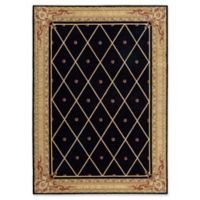 Nourison Ashton House 9-Foot 6-Inch x 13-Foot Area Rug in Black