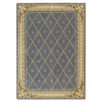 Nourison Ashton House 9-Foot 6-Inch x 13-Foot Area Rug in Blue