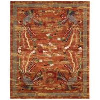 Nourison Barclay Butera Dynasty Imperial 8-Foot 6-Inch x 11-Foot 6-Inch Area Rug in Persimmon