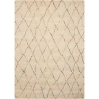 Nourison Barclay Butera Intermix 3-Foot 6-Inch x 5-Foot 6-Inch Accent Rug in Sand