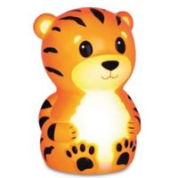 Terry the Tiger Portable Night Light in Orange Stripe