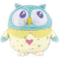 OK to Wake Owl with Night Light and Music in Blue/Yellow