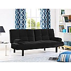 Serta® Chelsea Convertible Sofa in Black