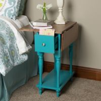 Kate and Laurel Sophia End Table in Teal