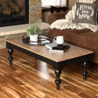 Kate and Laurel Sophia Coffee Table in Black