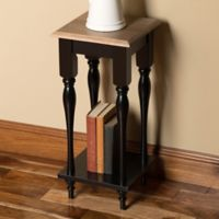 Kate and Laurel Sophia End Table in Black