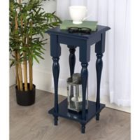 Kate and Laurel Sophia End Table in Navy
