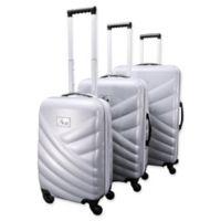 Chariot Veneto 3-Piece Luggage Set in White