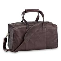 Piel Leather® Traveler's Select XS Duffle Bag in Chocolate