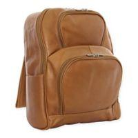 Piel® Leather Half-Moon Laptop Case in Saddle