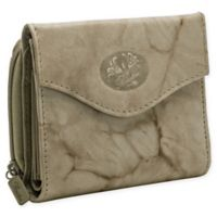 Buxton® Heiress French Zip Accordion Purse in Taupe