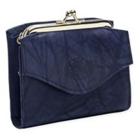 Buxton® Heiress Framed French Purse Wallet in Navy