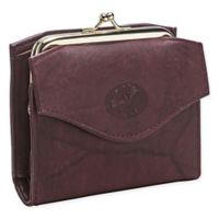Buxton® Heiress Framed French Purse Wallet in Burgundy
