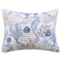 Sag Harbor King Pillow Sham in Blue