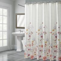 Croscill® Pressed Flowers 72-Inch x 96-Inch Shower Curtain