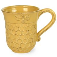 Boston International Honeycomb 13 oz. Mugs (Set of 2)