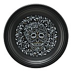 Fiesta® Skull and Vine Chop Plate in Black