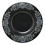 Fiesta® Skull and Vine Pasta Bowl in Black